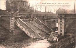 CPA 59 (Nord) Douai - Pont De L'Entrée Des Eaux Que Les Allemands Firent Sauter Le Dernier Jour De L'occupation TBE - Douai