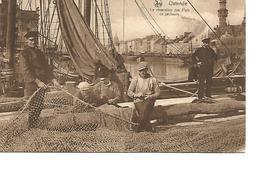 Nettenmakers Voor De Visserij - Oostende