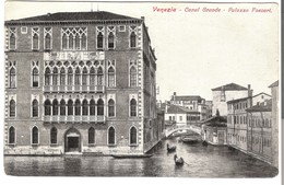 Venezia -  Canal Grande - Palazzo Poscari V. 1922 (3438) - Venezia (Venice)