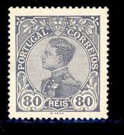 ! ! Portugal - 1910 D. Manuel 80 R - Af. 164 - MH - 1910 : D.Manuel II