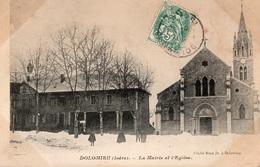 Dolomieu. - La Mairie Et L'Eglise - - Frankreich