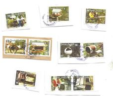 1007/1016   Boite  Aux Lettres Beaux Cachets  Sur Fragments  (clascamerou16l) - Usados