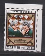 NORTH KOREA Scott # 2009 MNH - World Chess Championship 1980 - Korea, North