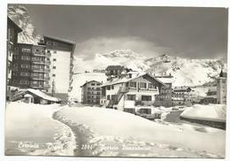 W3163 Cervinia Breuil (Aosta) - Scorcio Panoramico - Panorama Invernale / Viaggiata 1963 - Altre Città