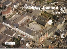 Fougères--College Jeanne D'arc  1990--1991 - Fougeres
