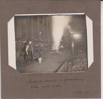 MINE MINA MINERIA, MINIERE, MIJNBOUW, BERGBAU  15*10CM Fonds Victor FORBIN 1864-1947 - Profesiones