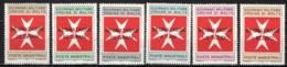 SMOM - 1975 - CROCE DI MALTA CON SOVRASTAMPA - OVERPRINTED - MNH - Sovrano Militare Ordine Di Malta