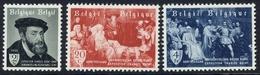 1955 - COB N° 964/66,Tentoonstelling Van De Schilderijen Van Keizer Karel Te Gent Charle V Paintings Gand - Bélgica
