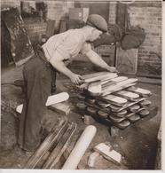 SILVER PAPER HOSPITALS WEST LONDON REFINING COMPANY LINGOTS SILVER  20*19CM Fonds Victor FORBIN 1864-1947 - Profesiones
