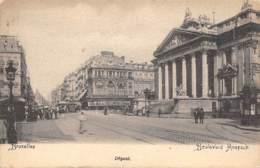 BRUXELLES - Boulevard Anspach - Avenues, Boulevards