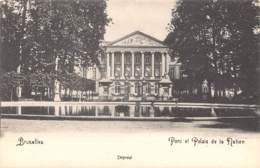 BRUXELLES - Parc Et Palais De La Nation - Forêts, Parcs, Jardins