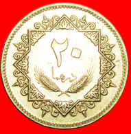 + HAWK: LIBYA ★ 20 DIRHAMS 1395-1975 MINT LUSTER! LOW START ★ NO RESERVE! - Libië