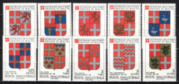 SMOM - 1991 - STEMMI DEI GRAN MAESTRI CHE HANNO REGNATO DAL 1572 AL 1663 - MNH - Sovrano Militare Ordine Di Malta