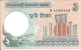 BANGLADESH   2 Taka  Nd(1989)   -- UNC -- - Bangladesh