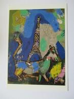 """Exposition """"Chagall Connu Et Inconnu """" Paris Grand Palais 2003 La Tour Eiffel ,le Rêve,l'ÄNE - Paintings"""