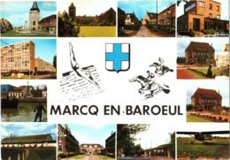 CPM 59 (Nord) Marcq-en-Baroeul - Multivues 1975 - Marcq En Baroeul