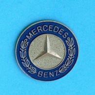 1 PIN'S  //  ** LOGO / MERCEDES BENZ ** - Mercedes