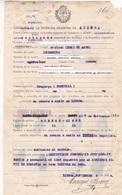 DOCUMENT CONSULADO ARGENTINA EN LISBOA VAPOR A BUENOS AIRES AÑO YEAR 1924 - BLEUP - Documentos Históricos