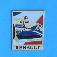 1 PIN'S  //  ** RENAULT F1 / ELF / CAMEL / CANON ** - Renault