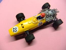SCALEXTRIC HONDA F 1 Ref C 36 Amarillo / Negro Made In Spain - Circuitos Automóviles
