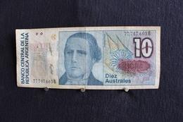 23 / Banco Central De La Republica  Argentina - 10 Diez Australes / N° 77.747.603 B - Argentine