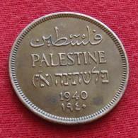 Palestine 1 Mil 1940 Palestina - Otros – Asia