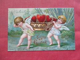 Valentine's Embossed     Ref 3386 - Valentijnsdag