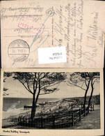 616224,Ostseebad Kahlberg Strandpartie Krynica Morska Poland Feldpost Stempel Nachgeb - Polen
