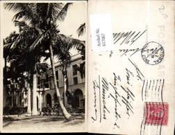 617067,Foto-AK Porte Cochere Cristobal Canal Zone Panama Hotel Washington - Panama