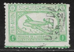 Saudi Arabia Scott # C1 Used Airliner, 1949 - Saudi Arabia