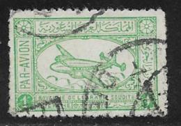 Saudi Arabia Scott # C1 Used Airliner, 1949, Grey Paper - Saudi Arabia