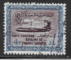 Saudi Arabia Scott # C26 Used Convair, 1963 - Saudi Arabia