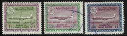 Saudi Arabia Scott # C88,C89,C91 Used Boeing 720B, 1968-71 - Saudi Arabia