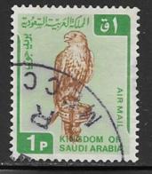 Saudi Arabia Scott # C96 Used Falcon, 1968 - Saudi Arabia