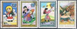 Mongolia 1975 / 77  -  Michel  968 + 1073 / 75  ( Usados ) - Mongolia