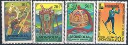 Mongolia 1975 / 80  -  Michel  959 + 962 + 963 + 1271  ( Usados ) - Mongolia