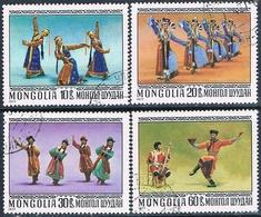 Mongolia 1977  -  Michel  1040 / 42 + 1044  ( Usados ) - Mongolia
