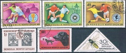 Mongolia 1978 / 80  -  Michel   1148 / 50 + 1176 + 1230 + 1280  ( Usados ) - Mongolia