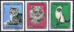 Mongolia 1979  -  Michel   1201 + 1204 + 1205  ( Usados ) - Mongolia