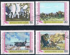 Mongolia 1979  -  Michel   1222 / 25  ( Usados ) - Mongolia