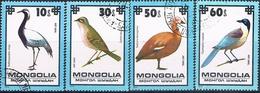 Mongolia 1979  -  Michel   1256 / 59  ( Usados ) - Mongolia