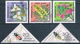 Mongolia 1979 / 80  -  Michel   1208 / 10 + 1279 / 80  ( Usados ) - Mongolia