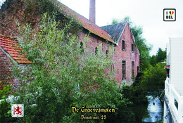 Set 7 Cartes Postales, Bâtiments, Moulins à Eau, Belgium, Mere, De Graevesmolen - Mulini Ad Acqua