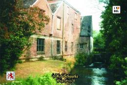 Set 8 Cartes Postales, Bâtiments, Moulins à Eau, Belgium, Mere, 't Hof Schuurke - Mulini Ad Acqua