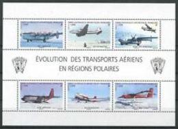 TAAF  2012 Evolution Des Transports     CAT YT F  N°612      N** MNH - Blocs-feuillets