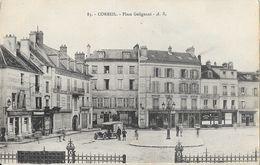 Corbeil Essonnes - Place Galignani - Carte A.R. N° 83 - Corbeil Essonnes