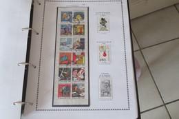 France 1988   LA COMMUNICATION VUE PAR 12 AUTEURS DE BANDE DESSINEE Cat N° 2503 à 2514 - Blocs-feuillets