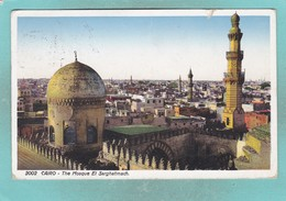 Small Post Card Of The Mosque El Sarghatmach,Cairo,Egypt,V99. - Cairo