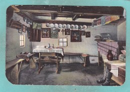 Small Post Card Of Inside Casa Taraneasca,Busteni, Romania, ,V99. - Romania