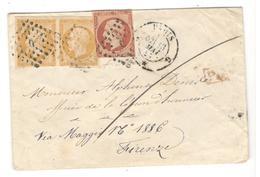 17897 - Tarif  60 C Pour L'ITALIE - 1849-1876: Periodo Classico
